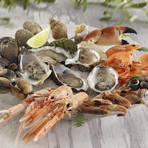 """Les plateaux de fruits de mer """"Sur demande uniquement"""""""
